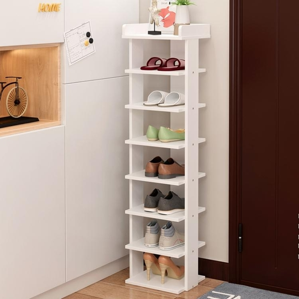 鞋架簡易經濟型家用組裝現代簡約省空間鞋櫃多層鞋架家裏人