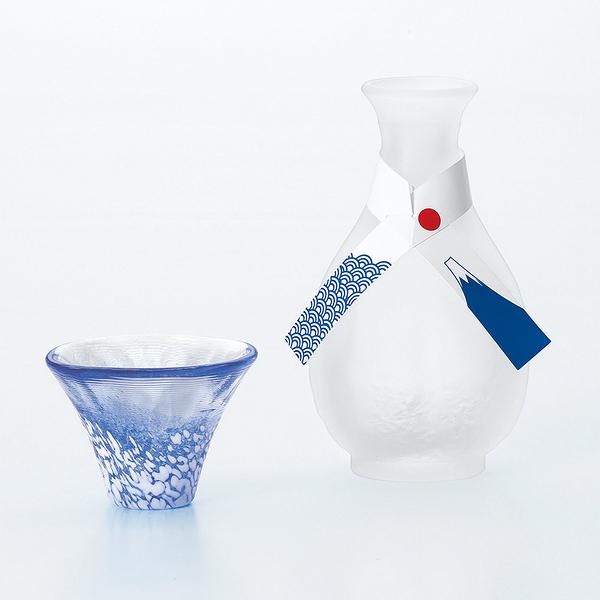 日本TOYO-SASAKI 手作富士山招福壺杯組 175ml
