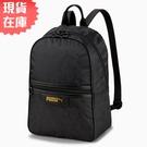 【現貨】PUMA Classics 背包 後背包 休閒 黑【運動世界】07793801