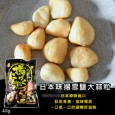 (即期商品) 日本味揚雪鹽大蒜粒40g