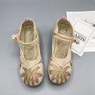 媽媽鞋舒適軟底老北京布鞋單鞋名族風繡花鞋防滑中老年女中國風鞋