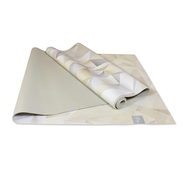 Taimat 天然橡膠瑜珈墊 183cm 絲路系列 (彩繪) - 礫石灰
