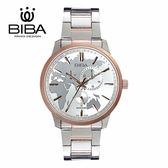 法國 BIBA 碧寶錶 絕色系列 藍寶石玻璃 石英錶 B752S104W 白色 - 45mm