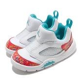 Nike 籃球鞋 Jordan 5 Retro Little Flex TD 白 紅 幼童鞋 AJ5 【ACS】 CK1228-148