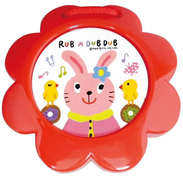 【日本製】【Rub a dub dub】幼童用寶寶玩具 動物響板 兔子(一組:3個) SD-9214 - Rubadubdub