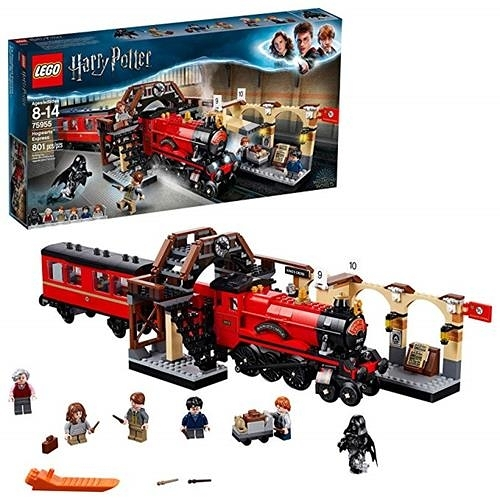 LEGO 樂高 Harry Potter Hogwarts Express 75955 Building Kit (801 Pieces)
