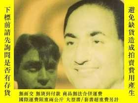 二手書博民逛書店印度音樂歌曲原版磁帶罕見Mohd. Rafi and Rajen