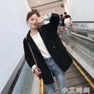 2020新款韓版春秋炸街西裝外套女潮休閒網紅小西服套裝英倫風上衣 小艾新品