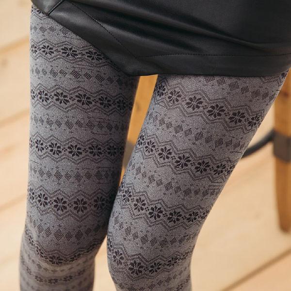 香川絲襪 台灣製 時尚流行花紋 褲襪【NO630-245】