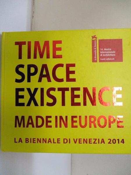 【書寶二手書T9/藝術_JMC】Time Space Existence