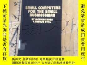 二手書博民逛書店Title:罕見Small computers for the