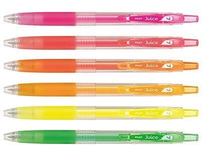 百樂 PILOT Juice果汁筆 螢光系列 LJU-10F 0.7螢光果汁筆