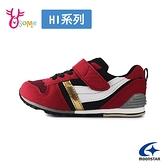 Moonstar月星童鞋 男童運動鞋 CARROT HI系列 十大機能 日本機能鞋 足弓鞋墊 寬楦 跑步鞋 K9607#黑紅