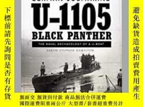 二手書博民逛書店German罕見submarine U-1105 'Black Panther' (damaged)-德國潛艇U-