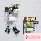 免打孔房間床頭壁掛收納架墻上置物架【櫻桃菜菜子】