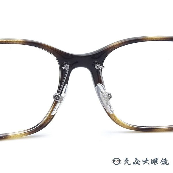 RayBan 雷朋眼鏡 RB7168D 2012 (琥珀) 方框 近視眼鏡 久必大眼鏡