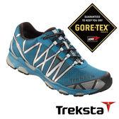 Treksta SYNC II 男 Gore-Tex GTX 防水戶外多功能鞋 灰藍 KR16BMA  健行鞋|機能鞋│登山|露營