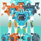 玩具手錶 兒童變形電子手表金剛玩具學生男孩創意卡通變身機器人手表男生【快速出貨八折下殺】