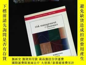 二手書博民逛書店Risk罕見Management and InsuranceY1