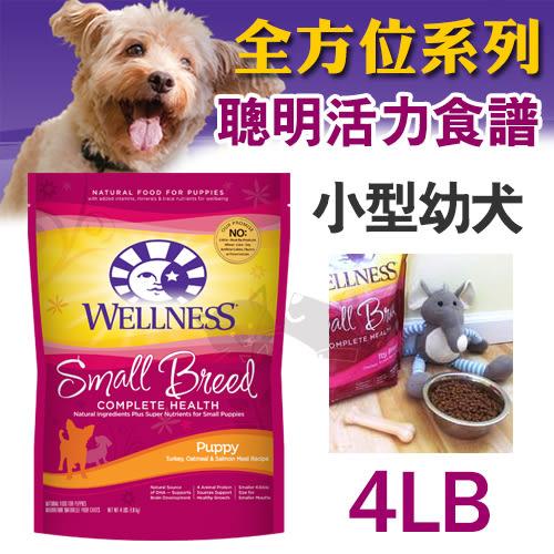 PetLand寵物樂園《Wellness Complete Health全方位系列》聰明活力 - 小型幼犬4磅 / 獲WDJ
