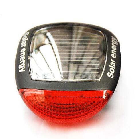 自行車燈 前燈 太陽能尾燈 山地車配件騎行警示燈 騎行裝備閃光燈
