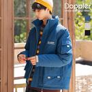 鋪棉外套 日系工裝大口袋內鋪棉保暖立領外套【TJF8555】現貨+預購
