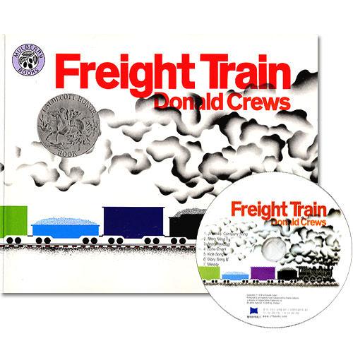 【麥克書店】『繪本123‧吳敏蘭老師書單』-- FREIGHT TRAIN /英文繪本附CD《交通工具.顏色》