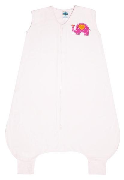 美國刷毛防踢睡袍: Elephant: 粉大象: HL-2804-2806