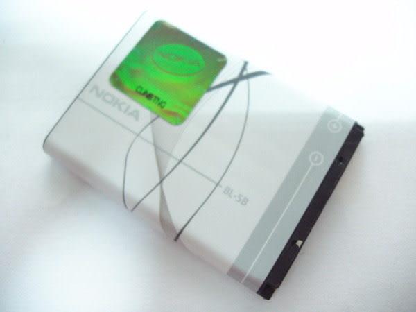 NOKIA BL-5B 原廠電池 5070/5300/5500/6120C/N80/N90 BL5B/890mah【采昇通訊】