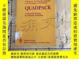 二手書博民逛書店Quadpack:罕見A Subroutine Package