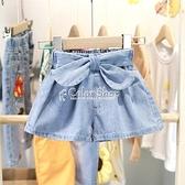 小童新款夏季牛仔短褲女童夏天4牛仔裙褲3女寶2-6歲5百搭熱褲洋氣 快速出貨