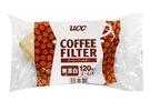 金時代書香咖啡 日本 UCC 無漂白梯形濾紙 2~4人 120枚入 CF-2-120B