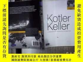 二手書博民逛書店Kotler罕見Keller a framework for marketing management Kotle
