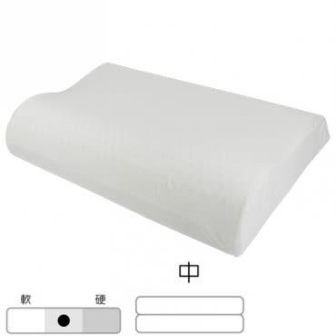 HOLA home 馬來西亞天然乳膠枕曲線型 H12 CM