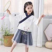 兒童古裝演出服女童寶寶攝影服