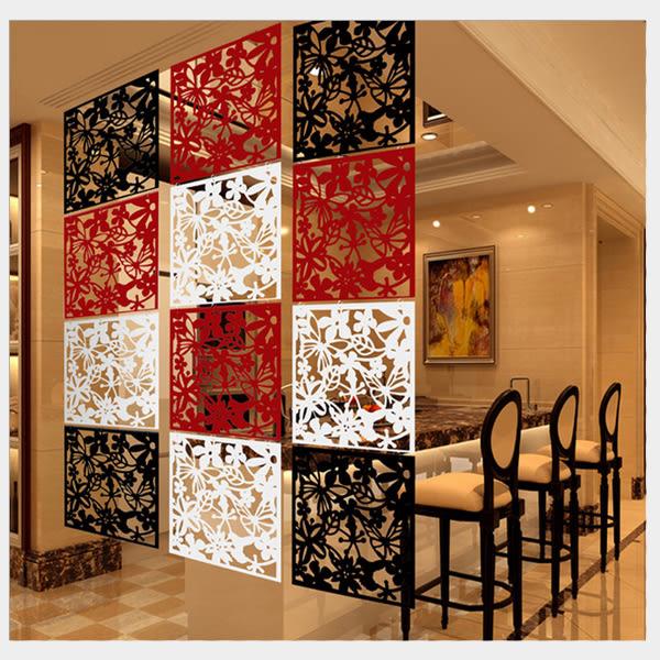 雕花屏風 DIY創意吊掛式屏風 客廳玄關 門簾窗簾 牆壁裝飾掛飾 室內裝潢