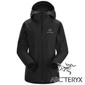 【Arc'teryx 始祖鳥】女 GAMMA SL軟殼連帽外套-黑『黑』L0735360 戶外.露營.旅遊.保暖.休閒