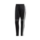 adidas 長褲 ID 3-Stripes Snap Pants 黑 白 女款 運動休閒 【PUMP306】 DZ8660