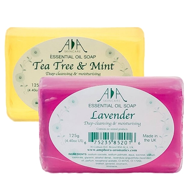 英國 AA Skincare 精油皂 125g 茶樹/薰衣草 兩款可選【YES 美妝】