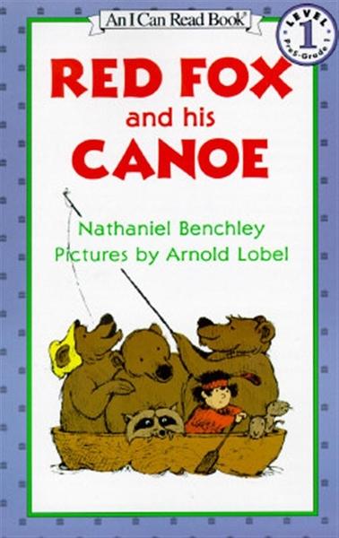 (二手書)An I Can Read Book Level 1: Red Fox and his Canoe
