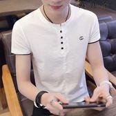 短袖t恤白色半袖男士體恤衫