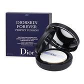 Christian Dior  迪奧 DiorSkin Forever 恆久貼肌氣墊粉底 SPF 35 - PA +++0.52oz, 15g 012 Porcelain【玫麗網】