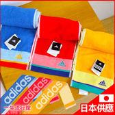 《日貨》愛迪達 Adidas 正版 運動風 圍脖式 毛巾 抗菌 除臭 吸水性 擦手巾 B21080
