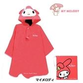 日本限定 三麗鷗 美樂蒂 大臉版 兒童 雨衣 (115~125cm)
