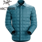 【ARC TERYX 始祖鳥 男 Rico Shacket 合道藍 羽絨襯衫夾克】16119/羽絨夾克