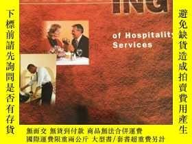 二手書博民逛書店英文原版:Marketing罕見of Hospitality S