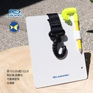 Aropec 台灣製 潛水浮潛專用 水中紀錄板 手寫板 一般鉛筆皆可使用 HW08S