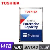 【Toshiba 東芝】企業碟 14TB 3.5吋 硬碟 [MG07ACA14TE]