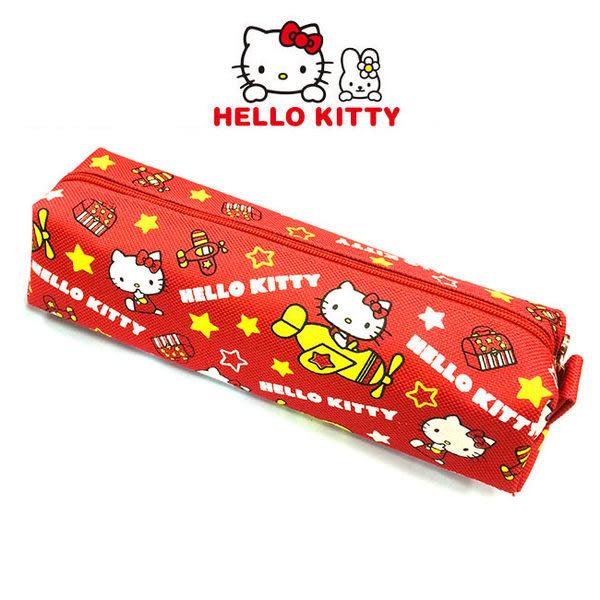 里和Riho HelloKitty 凱蒂貓可愛飛機筆袋 鉛筆盒 收納包 旅行包 外出包 三麗鷗