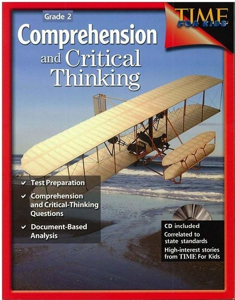 Time for kids: Comprehension and Critical Thinking Grade 2 (with CD)